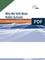 Why We Still Need Public Schools