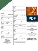 Basketball Registration Form