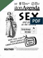 Houston Agenda, August 1993