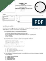 Evaluacion Diagnostica Cuarto Naturals
