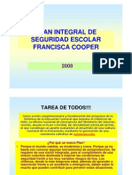 Plan Integral de Seguridad Escolar 2