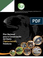 Plan Nacional para la Conservacion del Danto en Honduras