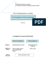 Programmazione e Controllo 7^parte - Lo yield e il revenue management.pdf