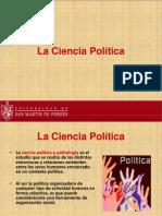7 B - La Ciencia Política. Componentes