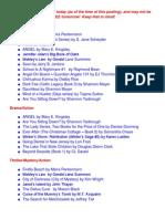 FREE Kindle E-Book Roundup (4/7)