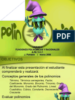 Polinomios Version Blog