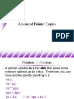Advanced Pointer Topics