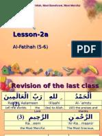 Quran CCE 02a Fatihah