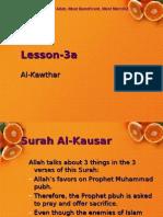 Quran CCE 03a Kawthar