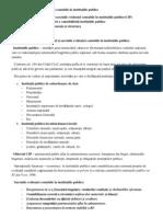 Organizarea evidenței contabile în instituțiile publice