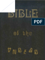 Bible of the Undead