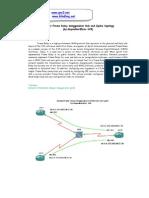 Simulasi Frame Relay Menggunakan Hub and Spoke Topology