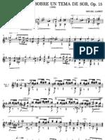 Llobet, Miquel (1878-1928)_Variaciones Sobre Un Tema de Sor Op.15