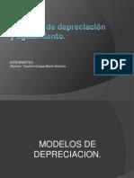 Modelos  de depreciación y agotamiento. 09