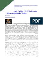 Die Schleichende Gefahr - ELF-Wellen Sind Elektromagnetische Wellen