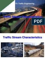 Traffic Stream Characteristics 120809