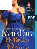 75238096 My Ruthless Prince by Gaelen Foley
