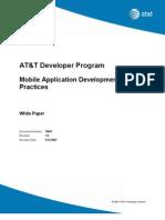 Best Practices Mobile Application Development