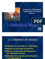 Introduccion a La Tribologia