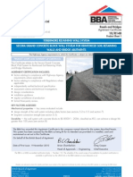 BBA Cert for Tobermore Retaining Wall System (2010)