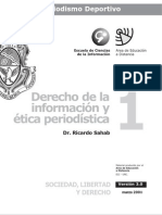 Derecho y Etica Periodistica - Modulo 1