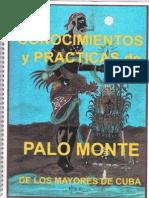 Conocimientos y Practicas de Palo Monte de Los Mayores de Cuba