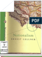 Ernest Gellner. Nationalism