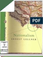 Ernest Gellner. Nationalism