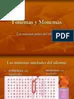 Morfemas y Fonemas