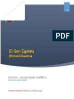El Gen Egoista ( Alvaro Flores Romero
