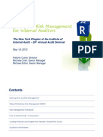 4. AM Track 3 - Deloitte - IIA Presentation 2012-05-18_FINAL