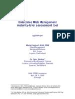 ERM M LEvel Assesment Tools - 2008
