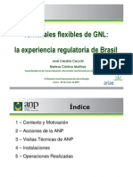 Terminales Flexibles de GNL a Experiencia Regulatoria de Brasil