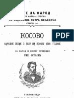 Dokumenti - Narodne Pesme o Kosovskom Boju