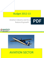 Aviation Industry & Its Salient Feature