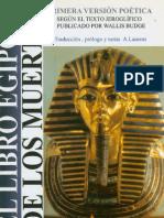 Budge, Wallis - El Libro de Los Muertos Egipcio