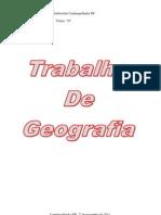 Modelo Capa de Geografia