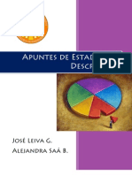 10Apuntes de Estadística Descriptiva