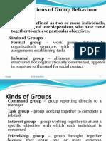 Groups 2012