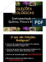 Aula Coleções Biológicas [Modo de Compatibilidade]