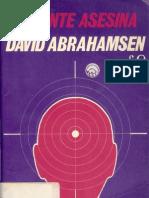 David Abrahemsen - La Mente Asesina