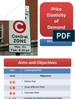 elasticity of demand