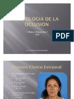 Semiología de la oclusión(1)