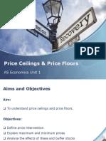 price ceilings  floors