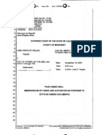 MEMORANDUM OF POINTS AND AUTHORITIES JANE KINGSLEY MILLER v. CITY OF CARMEL-BY-THE-SEA (M99513) 2009.pdf