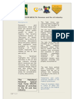 Factsheet for Kuramo Conference 2012