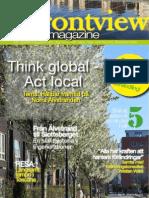 Frontview Magazine No 1 2013