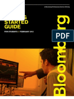 How to use a Bloomberg Terminal