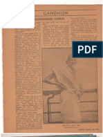 Article on Gandhism