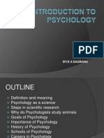 Introduction to Psychology - Karol